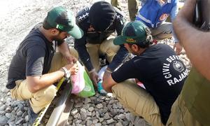 راجن پور: ریلوے ٹریک بم سے اڑانے کی کوشش ناکام، 5 'دہشت گرد' گرفتار