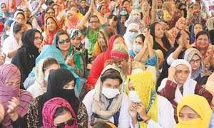 Nurses observe boycott across Sindh