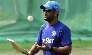 Dhoni's hour of glory came in 2011 final