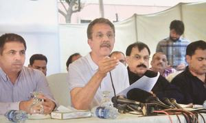 Mayor blames Sindh govt for KMC's shortage of funds