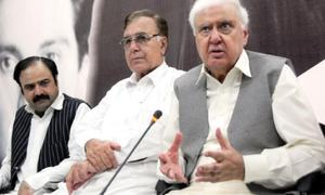 Anti-govt movement to pave way for snap polls: Sherpao