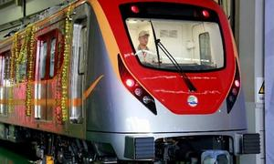 Tenders for Orange Line operation, maintenance to be floated again
