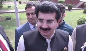 تحریک عدم اعتماد: کسی صورت استعفیٰ نہیں دوں گا، چیئرمین سینیٹ