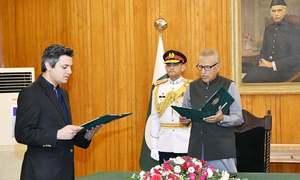 وفاقی وزیر حماد اظہر کا قلمدان ایک روز بعد ہی تبدیل