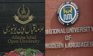 نمل اور علامہ اقبال اوپن یونیورسٹی کو 24 سال کا ٹیکس ادا کرنے کا حکم