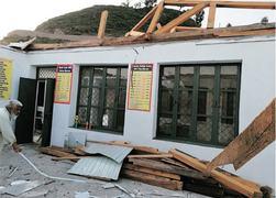 Historic school damaged in windstorm