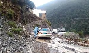 Flash flood washes away bridges, roads in Upper Dir