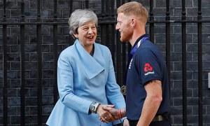 بین اسٹوکس کو انگلینڈ کا اعلیٰ ترین اعزاز 'نائٹ ہُڈ' دیا جائے گا