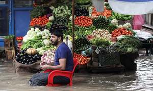 In pictures: Streets lie inundated after heavy monsoon rains hit Punjab, northern areas