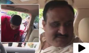 جب وزیراعلیٰ پنجاب نے پانی میں پھنسی خواتین کو لفٹ دی