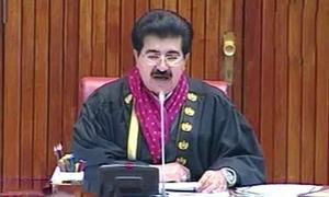 Opposition rules out withdrawal of motion against Sanjrani