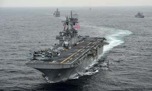 Iran denies US destroyed an Iranian drone near Persian Gulf