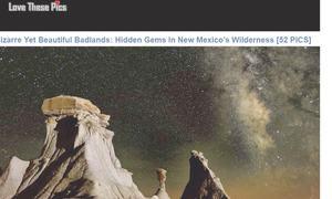 Website review: Stunning clicks