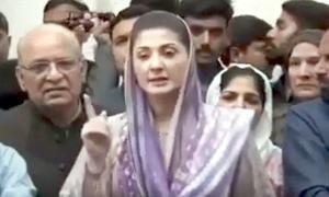 'پتہ نہیں وزیراعظم کے ساتھ عسکری قیادت امریکا گئی یا عمران خان انکے ساتھ گئے ہیں'