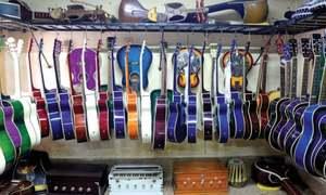 Sur Gali's artisans turn to repairing modern instruments