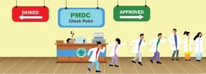 HEALTH: NEW PMDC — OLD CHALLENGES