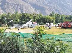 PIA plane skids off runway in Gilgit; all safe