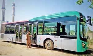 Sindh govt shelves Blue Line bus project due to financial crunch