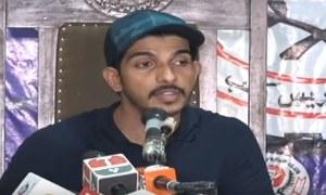 بیوی پر تشدد کے الزامات پر محسن عباس حیدر کا بیان سامنے آگیا
