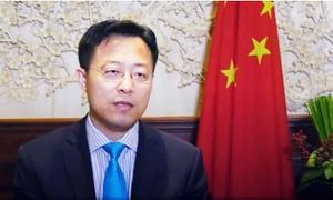 Chinese diplomat meets tribal elders