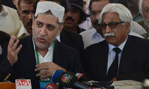 Mengal asks parties to unite for Balochistan's rights