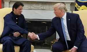 وزیراعظم عمران خان اور امریکی صدر ٹرمپ کی ملاقات، مسئلہ کشمیر پر ثالثی کی پیشکش