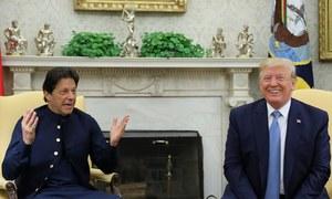 وزیر اعظم عمران خان کی امریکی صدر سے ملاقات