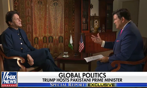 Interview: PM Imran talks peace with Taliban, meeting Trump and 'concerns' about Pakistan's nuclear weapons