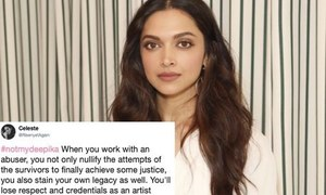 Fans are not happy about Deepika Padukone working with an alleged harasser