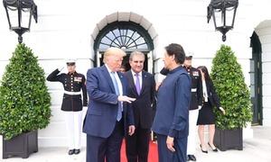 عمران خان کا دورہ امریکا