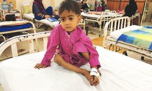 Underweight children, stunting rate highest in Sindh: survey