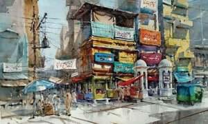 An artist's love for old Peshawar