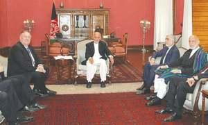 جنوبی ایشیا کی حکمت عملی تبدیل نہیں کررہے، امریکا کی افغان صدر کو یقین دہانی