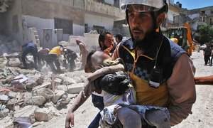 Air strikes kill 12 civilians in northwest Syria: monitor