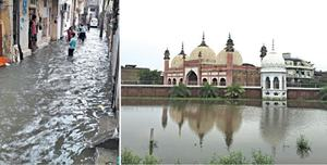 Urban flooding exposes drainage system