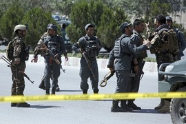 3 Afghan policemen killed in Taliban attack on base