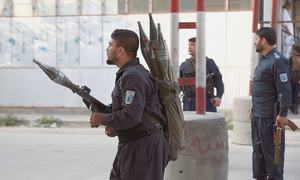 Deadly violence mars start of Afghan election process