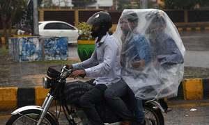 سندھ میں بارش، کراچی میں بجلی کا نظام درہم برہم، 16 افراد جاں بحق