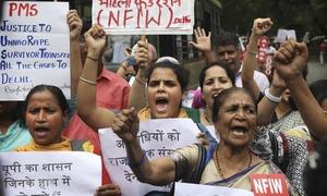 Outrage mounts in India over rape case teen's suspicious car crash