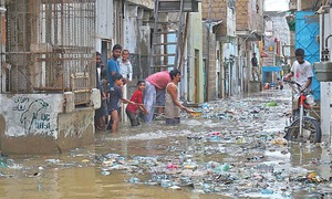Death toll rises to 18 as rain continues to lash Karachi