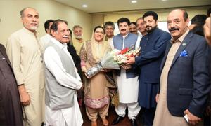 'Big blow for the opposition': Journalists, politicos react to Sanjrani's shock victory in no-trust vote