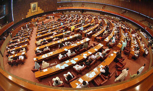 Off-colour opposition holds mild protest in NA over oil prices