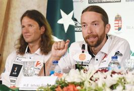 Hungarian duo recount their journey to K2