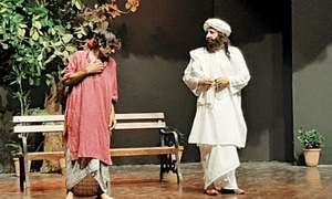 Aj Aakhaan Waris Shah Nu staged at Alhamra festival