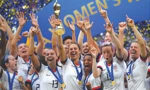 FOOTBALL: THE RISING WOMEN OF FOOTBALL