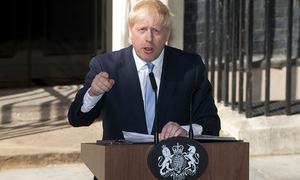EU to resist Johnson's 'no-deal' Brexit scare tactics