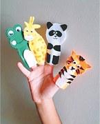 Wonder Craft: Finger puppets