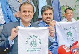 Sindh govt imposes ban on plastic bags, urges people to start using cloth bags