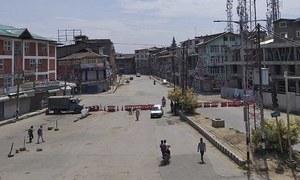 مقبوضہ کشمیر میں 'سیکیورٹی لاک ڈاؤن' جاری، شہری زندگی مفلوج