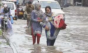 سندھ کے ضلع تھر میں طوفانی بارش، 2 بہنیں جاں بحق